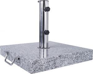 Graniidist päikesevarju jalg 40 x 40 x 5 cm, 20 kg