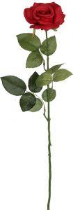 Kunstlill roos 66 cm, punane