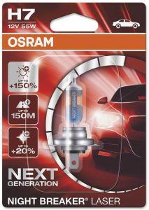 Autopirn Osram H7 Night Breaker Laser