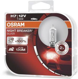 Autolamp H7 Osram Nightbreaker Silver 2 tk