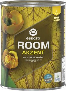 Sisetöödevärv Room Akzent 0,9 l