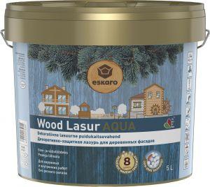 Dekoratiivne puidukaitsevahend Wood Lasur Aqua