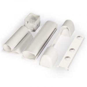 Hingekate PVC-aknale