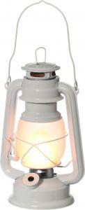 Tormilatern LED 27 cm valge