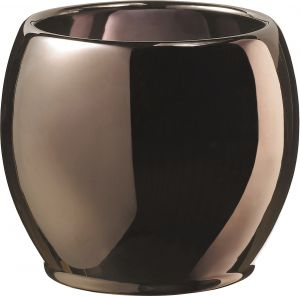 Ümbrispott Alberta Metallic Shiny Copper Ø 15 cm