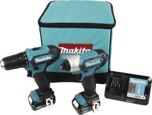 Akutööriistade komplekt Makita Combokit CLX224A, 12 V + 2 x 2 Ah