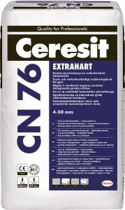 Põrandasegu Ceresit CN 76 Extrahart, 25 kg