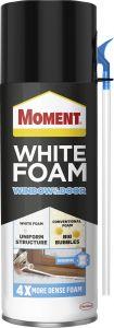 Montaaživaht Moment White Foam Window&Door, 400 ml