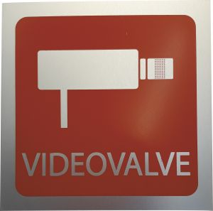 "Kleebis ""Videovalve"" 9 x 9 cm"