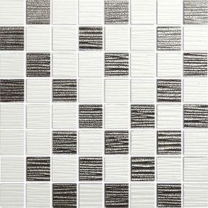 Mosaiik Lines valge 30 x 30 cm