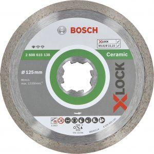 Teemantketas Bosch X-LOCK keraamilistele plaatidele