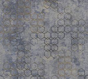 Fliistapeet New Wall Geomeetria, sinakashall