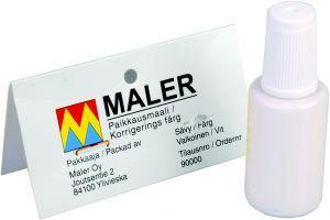 Parandusvärv põrandaliistule, valge 30 ml