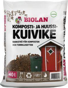 Komposti-ja kuivkäimlaturvas 40 l