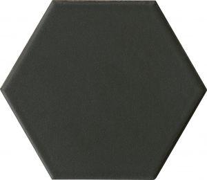Põrandaplaat Hexo 14,2 x 16,4 cm Must
