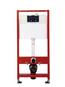 Seinapealse WC-poti loputussüsteem Tece 3in1