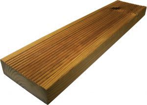 Terrassilaud pruun PHL 28 x 120 x 5100 mm