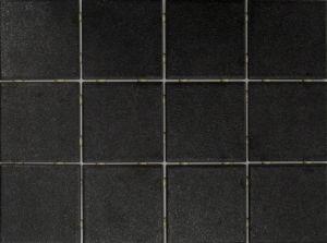 Põrandaplaat Tundra Dot must 10 x 10 cm