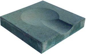 Vihmaveepüüdja betoonist 400 x 400 x 70 mm