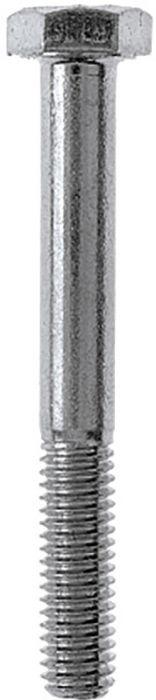 Kuuskantpoldid Profi Depot DIN931 ZN 10 x 80 mm 50 tk