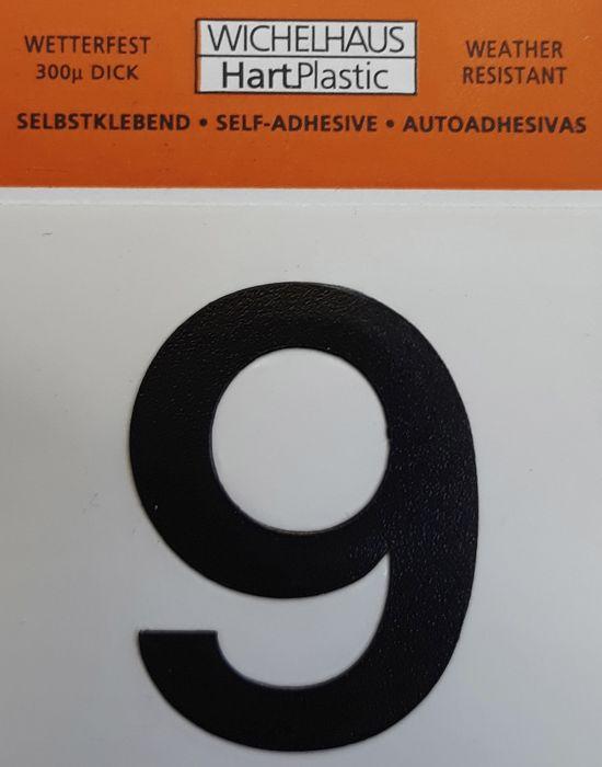 Number Wichelhaus HartPlastic 9 30 mm