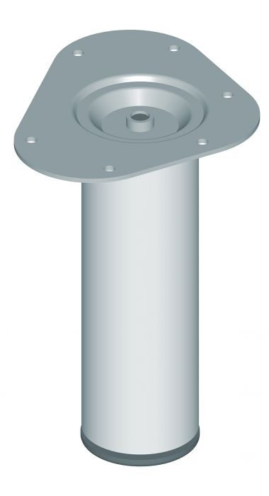Mööblijalg Element System ümar kroom 200 mm ⌀ 60 mm
