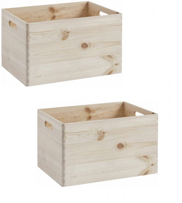 2 puidust kasti Zeller L