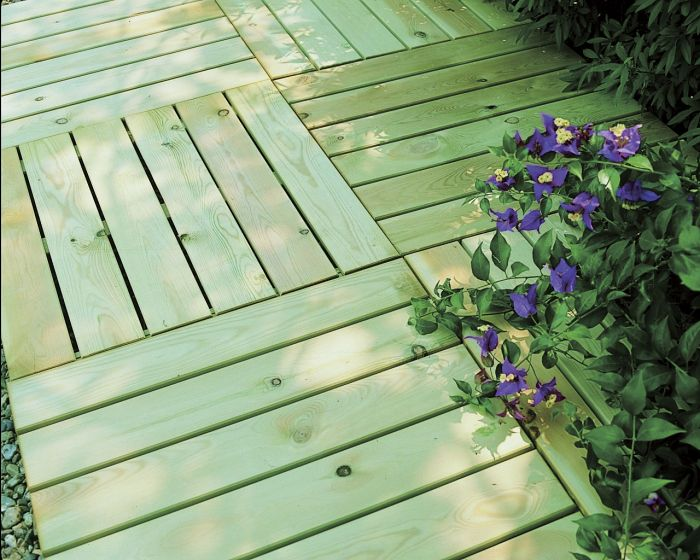 Terrassiplaat roheline 80 x 80 cm