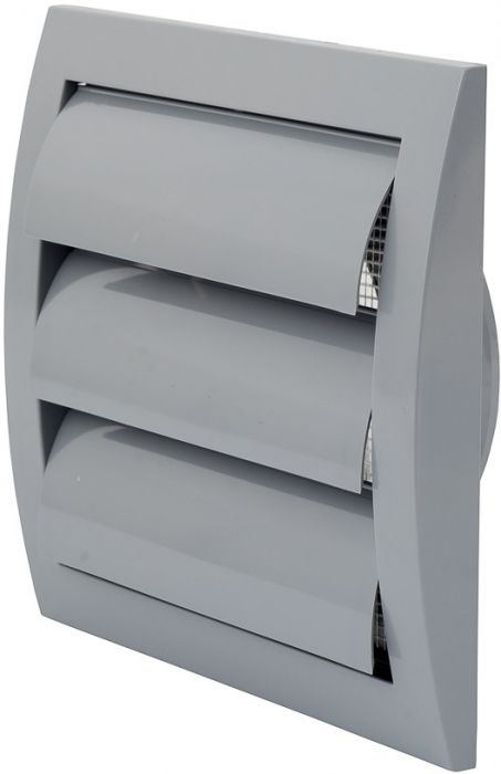 Ventilatsioonirest Europlast hall 150 x 150 mm labadega