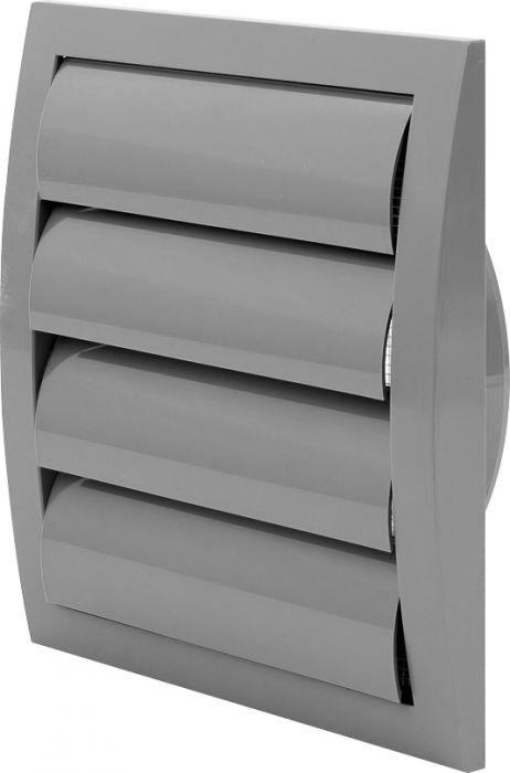 Ventilatsioonirest Europlast hall 190 x 190 mm labadega