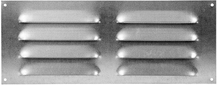 Ventilatsioonirest Europlast tsingitud 255 x 100 mm