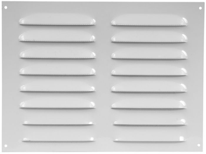 Ventilatsioonirest Europlast valge 255 x 190 mm