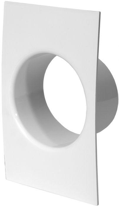 Ventilatsiooniava kate Europlast valge ⌀ 100 mm
