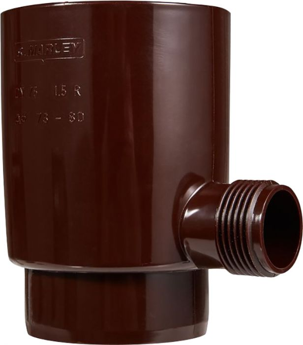 Vihmaveekollektor Marley 75 mm pruun