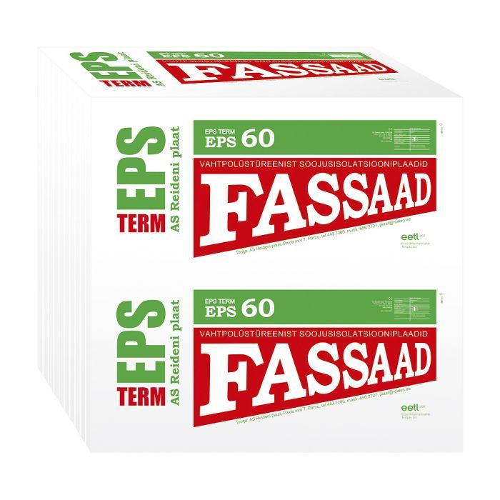 Soojustusplaat EPS 60 Fassaad
