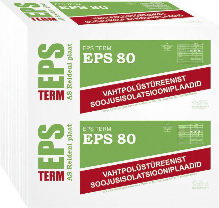 Soojustusplaat EPS 80, 100 mm