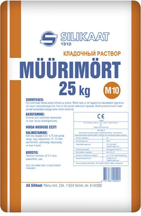 Müürimört M10, 25 kg