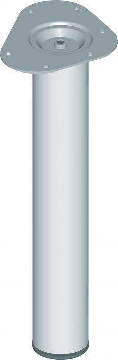 Mööblijalg Element System metall 400 mm ø 60 mm