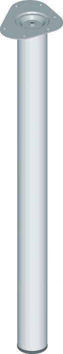 Mööblijalg Element System metall 800 mm ø 60 mm