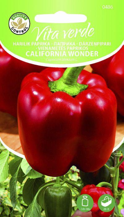 Paprika California Wonder