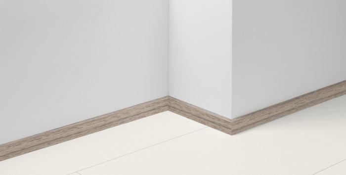 Põrandaliist MDF tiigipuu 16 x 40 x 2570 mm