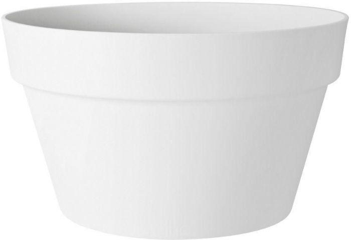 Õuepott Loft Urban Bowl Ø 35 cm, valge