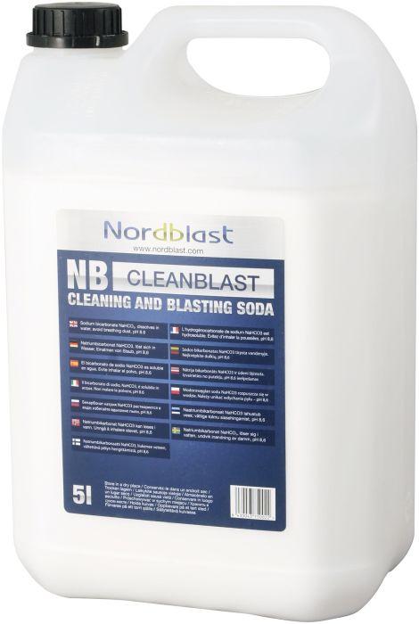 Soodapritsi puhastussooda Nordblast 5 L