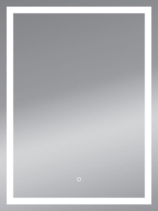 LED-peegel Framelight II 50 x 70 cm
