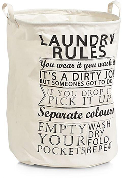 Pesukott Zeller Laundry Rules Ø 38 cm
