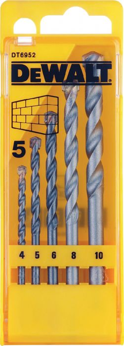 Kivipuuride komplekt DeWalt DT6952-QZ 5 tk