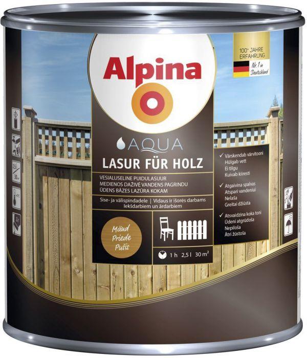 Puidulasuur Alpina 2,5 l mänd