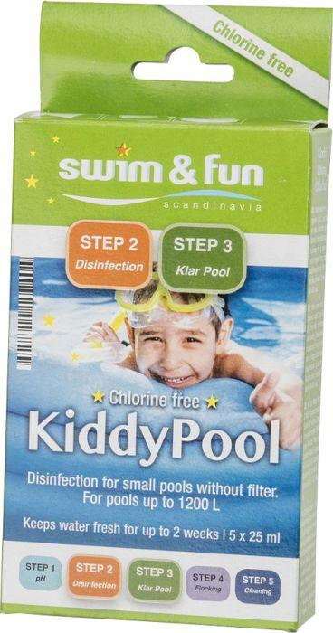 Puhastuspakk Swim&Fun Kiddy Pool 5 x 25 ml