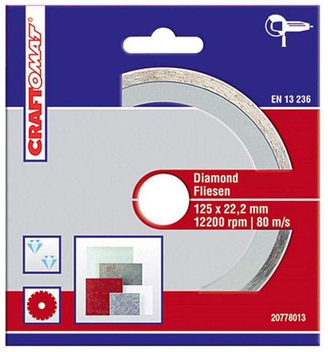 Teemantlõikeketas Craftomat 125 mm