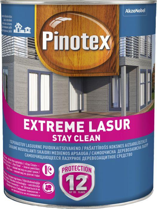 Puidukaitsevahend Pinotex Extreme Lasur 3 l värvitu